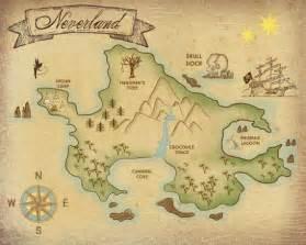 neverland map printable www pixshark images
