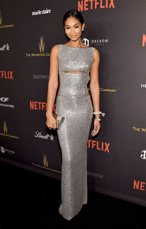 chanel iman home chanel iman at instyle and warner bros 2016 golden globe