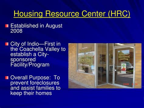 inland fair housing and mediation board ppt indio foreclosure program powerpoint presentation id 664874