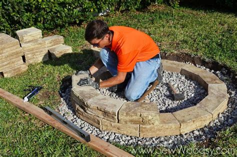 building a backyard pit how to build an outdoor pit
