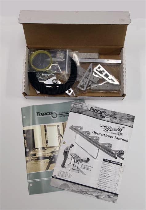 tapco tune up kit for windy sp port o brake 10820