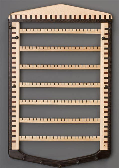 Earring Rack by Wooden Earring Rack Wall Pdf Woodworking