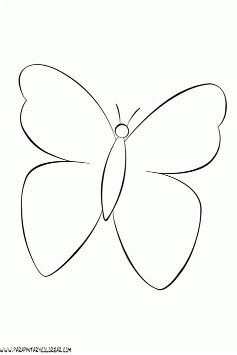imagenes mariposas dibujos mariposa dibujo facil imagui