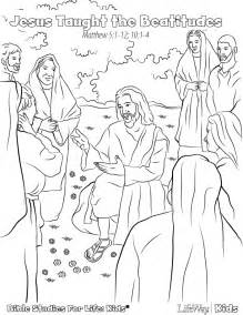 Coloring Pages Jesus Teaches The People Coloring Pages