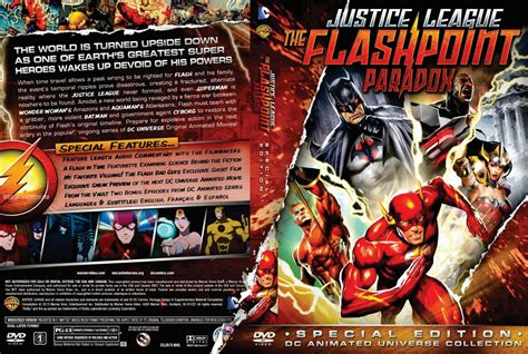 film justice league the flashpoint paradox 2013 justice league the flashpoint paradox movie dvd custom