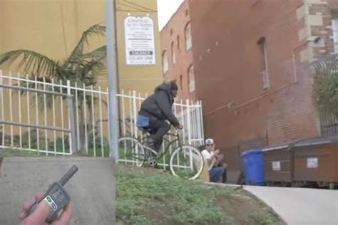 bike seat shock prank see moment pranksters wire bike to give electric shock to
