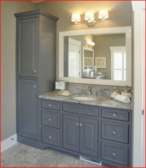 vanity with linen cabinet bathroom vanity linen cabinet