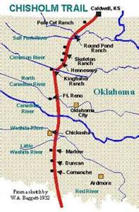 chisholm trail map 1000 images about cattle trails on cattle