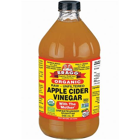 bragg apple cider vinegar 946 ml vinegars planet organic