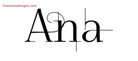 tattoo name ana ana archives page 2 of 2 free name designs
