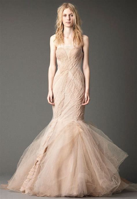 A Vera Wang Rainbow Of Dresses Part 1 by Blush Wedding Dresses With Classic Details Modwedding