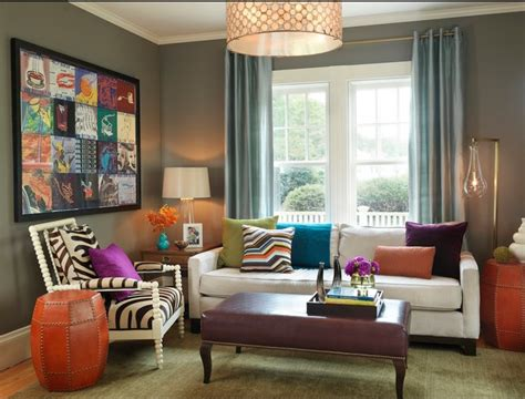 bright colored living rooms bright and colorful living room design ideas modern home