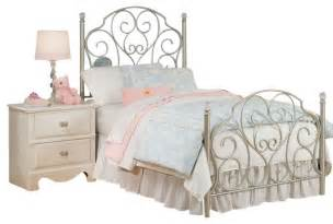 Full Over Queen Bunk Bed Standard Furniture Spring Rose Metal Kids Bed In White