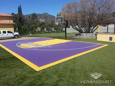 cost to build a backyard basketball court versacourt indoor outdoor backyard basketball courts