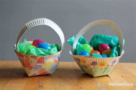 Easter Baskets With Paper Plates - 10 simple easter crafts daily parent