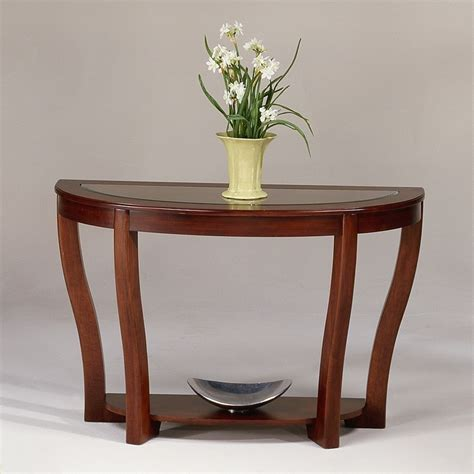 cherry sofa table with glass top 17 best images about console tables on ontario