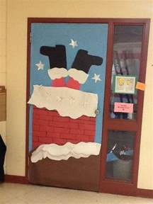 christmas door decorating decor contest xmas pinterest
