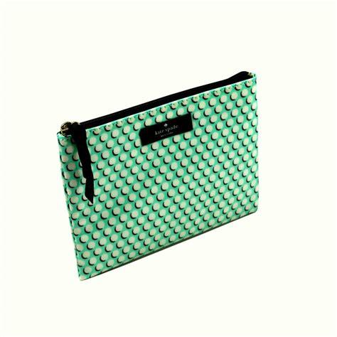 Mini Cosmetic Pouch kate spade daycation mini flat pouch multi dots cosmetic bag wlru1407 kate spade wlru1407
