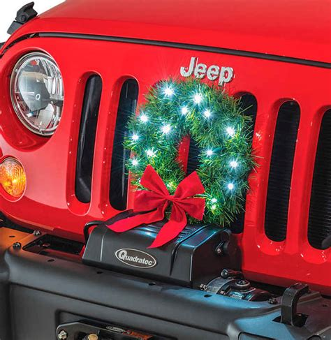 jeep wreath 2007 2017 jeep wrangler jk gift guide under 50 quadratec