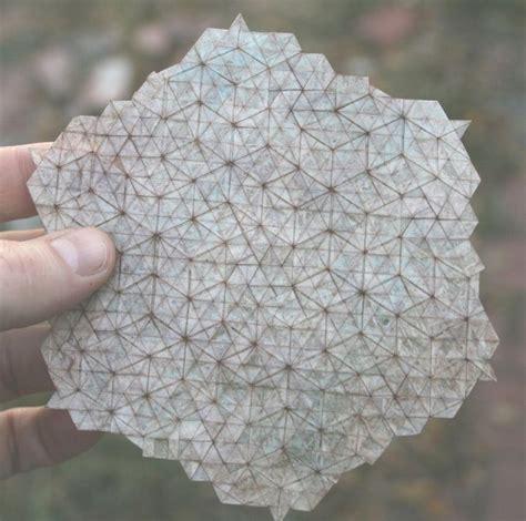 Origami Tessellations - ancient rites translucent origami tessellation