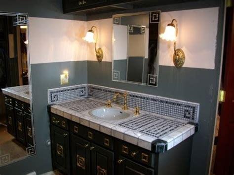 Mosaic Bathroom Vanity Top choosing materials to build a mosaic vanity top