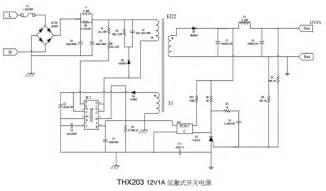 Thx203h 1 thx203 datasheet pwm switching power supply controller