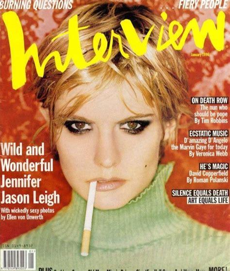 jennifer jason leigh interview 38 best images about interview 1990s on pinterest