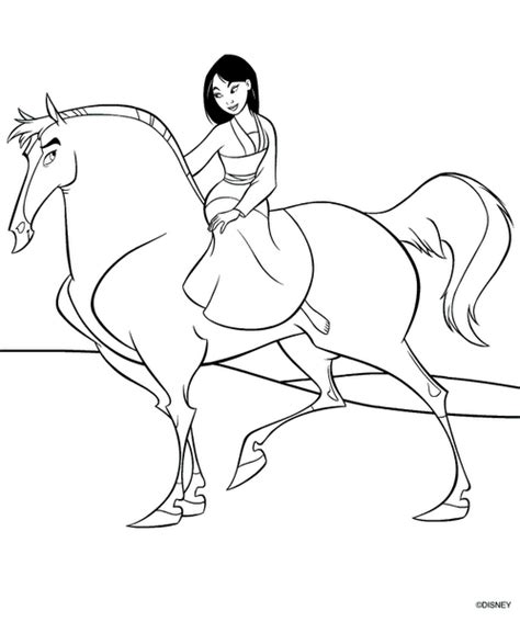 princess mulan coloring page 7 beautifull princess mulan characters coloring pages