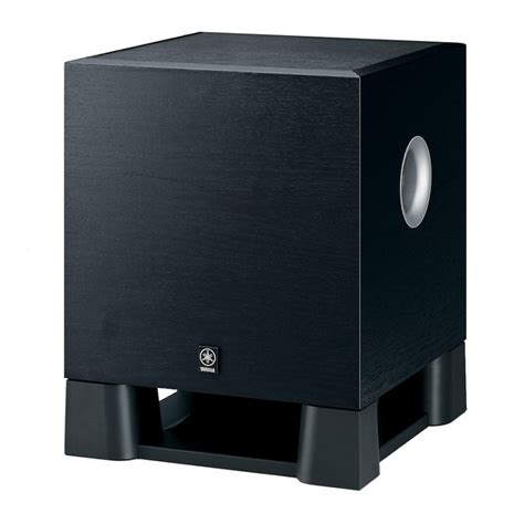 Speaker Subwoofer Yamaha yamaha ystsw030b active subwoofer speakers at vision hifi
