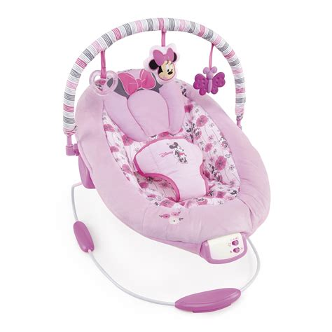 minnie baby swing minnie mouse precious petals bouncer disney baby