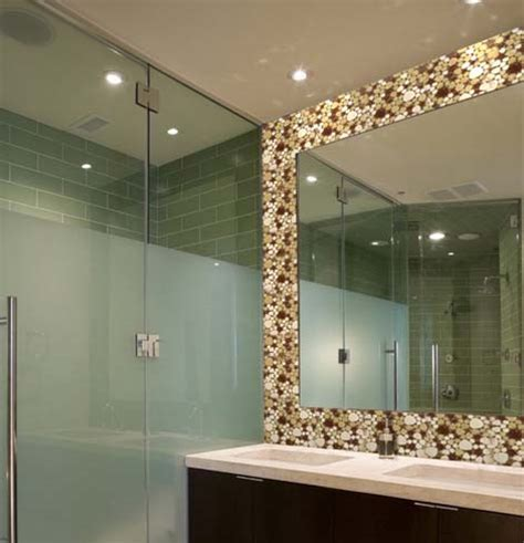 borders for mirrors in bathrooms wholesale porcelain pebble tile for fireplace border tiles