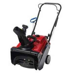 home depot toro snow blowers toro power clear 518 zr 18 in single stage gas snow