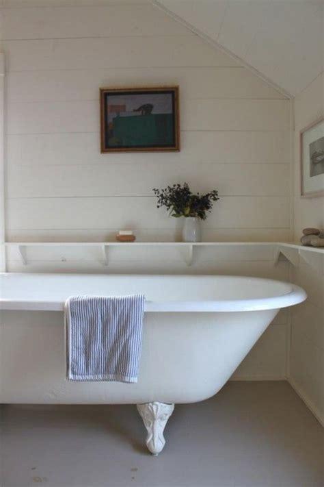 clawfoot bathtub shelf shelf around claw foot tub bathrooms pinterest