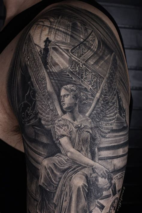 tattoo angel statue 50 best images about tattoo on pinterest bng inked men