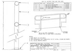 Osha Requirements For Handrails Ada Stair Handrail Requirements Images Frompo 1