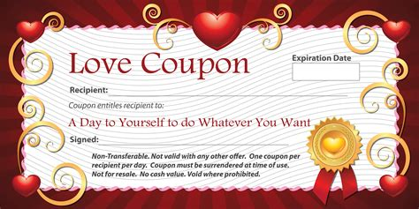 free printable personalized love coupons 10 personalized gift ideas for someone special collections