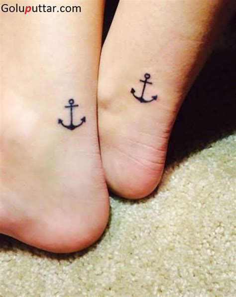 small anchor tattoo on ankle 50 anchor ankle tattoos