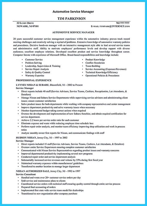 Automotive Designer Cover Letter by Writing A Concise Auto Technician Resume