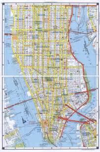 map nyc manhattan geography maps manhattan new york city
