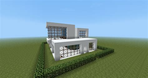 modern house minecraft modern house design minecraft project