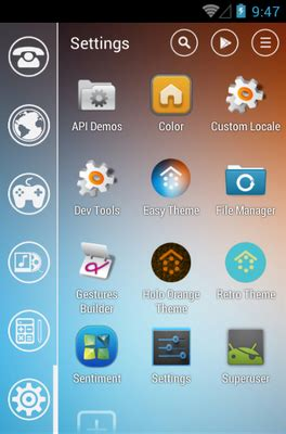 easy download themes for android easy android theme for smart launcher 2 androidlooks com