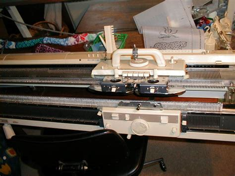 which knitting machine machine knitting introduction wikibooks open books for