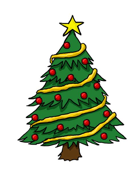 clip art christmas tree free clipart for mac clipartion