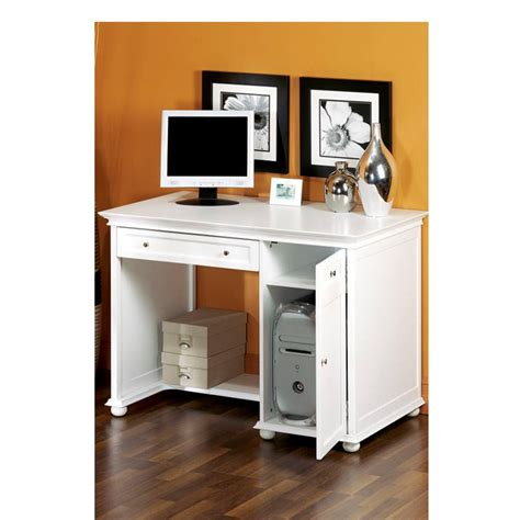 White Laptop Desk Home Decorators Collection Hton Harbor White Desk 3650600410 The Home Depot