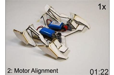 Origami Robot - the amazing origami robot that self assembles and