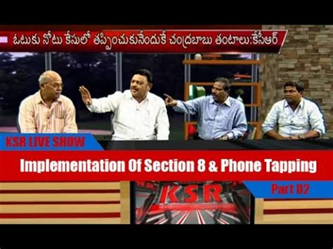 section 8 phone ksr live show discussion on implementation of section 8