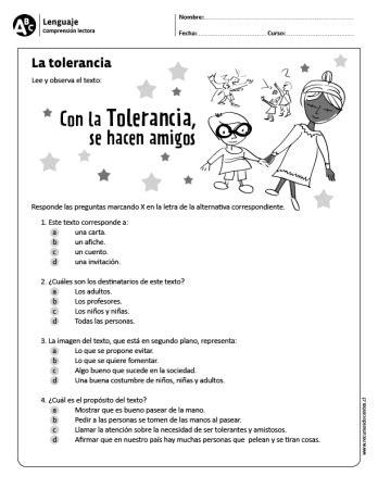 La tolerancia | Escuela | Pinterest