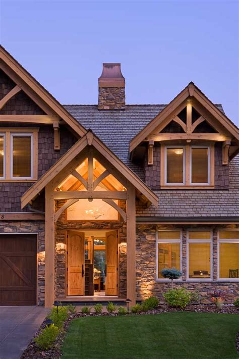 hybrid home plans compact hybrid timber frame home design photos