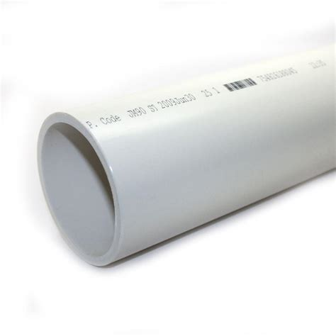 1 1 4 in x 10 ft pvc sch 40 dwv plain end drain pipe