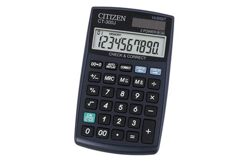 Baterai Kalkulator Citizen Sdc 868l jual citizen ct 300j jual citizen pocket ct 300j di